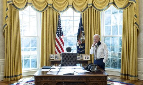 Prezydent Biden rozmawiał telefonicznie z prezydentem Chin