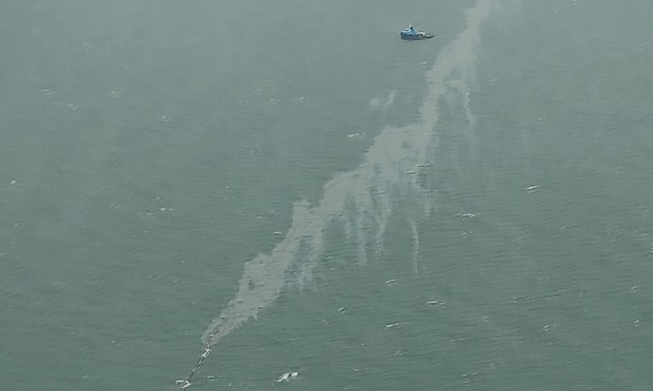 Wyciek ropy do Bałtyku z instalacji Orlenu