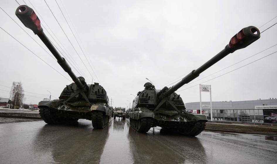 Rosja zakończyła formowanie dwóch dywizji na zachodzie kraju