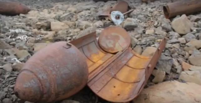 W niemieckiej bazie z czasów II wojny światowej znaleziono m.in. dokumenty czy broń