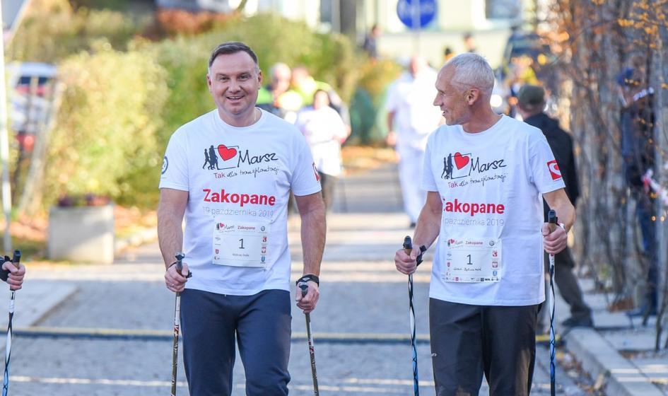 Koszulka prezydenta Dudy przekazana na WOŚP wylicytowana za 200 tys. zł