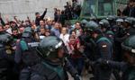 Separatyści starli się z policją w Katalonii