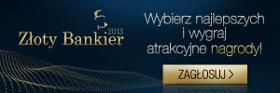 Złoty Bankier 2013 - zagłosuj w plebiscycie
