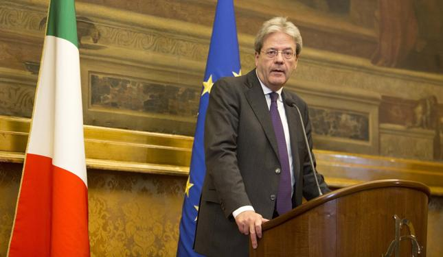 Premier Włoch Paolo Gentiloni