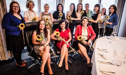 Laureatki konkursu Kobieta Biznesu 2012 organizowanego przez Bankier.pl