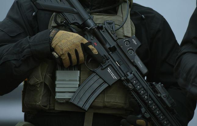 Strażnicy geologiczni będą mogli nosić zarówno broń długą, jak i krótką - zdj. ilustracyjne