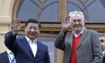 Prezydent Chin z wizytą w Czechach