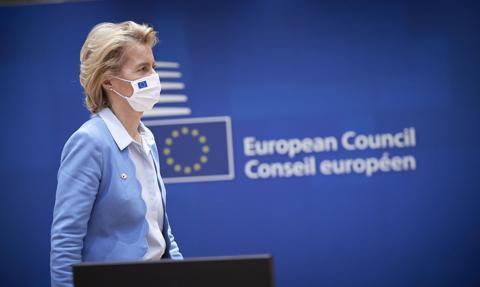 Von der Leyen: Pandemia ujawniła zbyt dużą zależność UE w łańcuchach dostaw