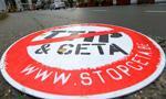 Przed PE protest przeciwko CETA; aktywiści chcą odrzucenia umowy