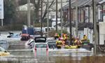 Powodzie w Wielkiej Brytanii po przejściu sztormu Dennis