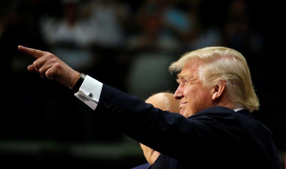 """""""NYT"""": Trump staje w obliczu świata pełnego konfliktów"""