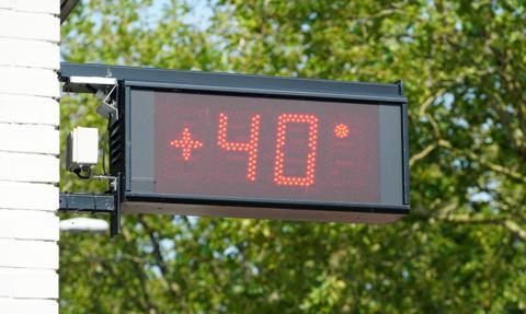 Fala upałów we Francji. Temperatura dochodzi do 40 st. C