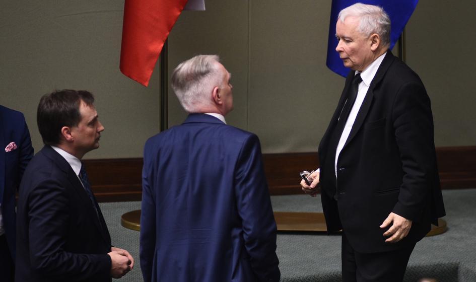Jarosław Kaczyński spotkał się Gowinem i Ziobrą