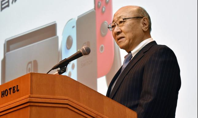 Tatsumi Kimishita, prezes Nintendo