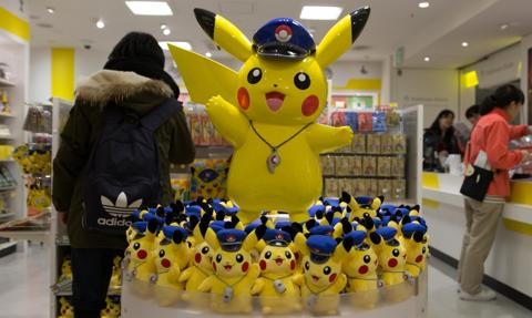 Pokemony podbiły roczny zysk o 2500 procent