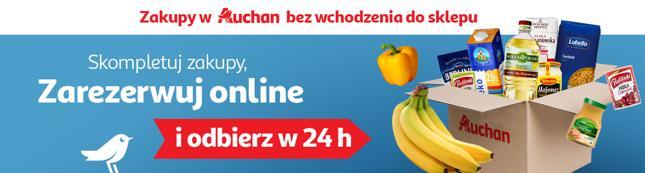 Nowa usługa w Auchan - zamów zakupy online
