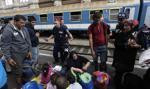 Starcia imigrantów z policją na wyspie Lesbos