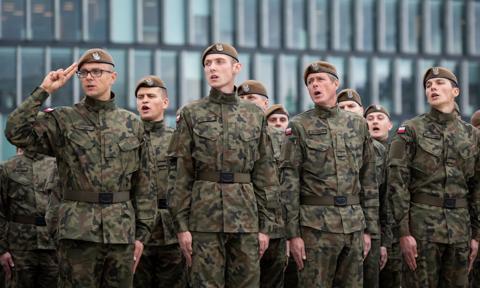 5000 kandydatów do wojska w pierwszym kwartale