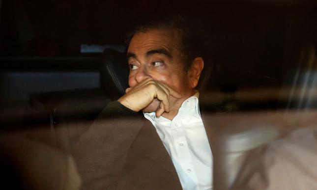 Były prezes Nissana Carlos Ghosn.