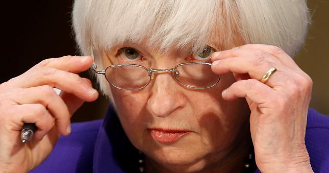 Prezes Fed Janet Yellen nie widzi kryzysu finansowego na horyzoncie.