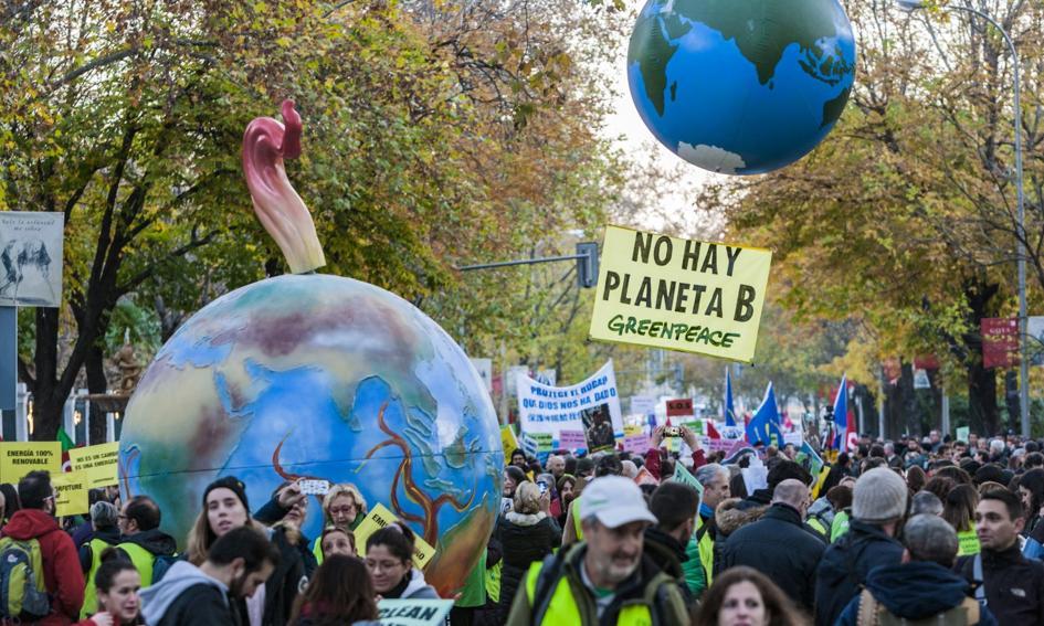 Marsz na rzecz klimatu w Madrycie