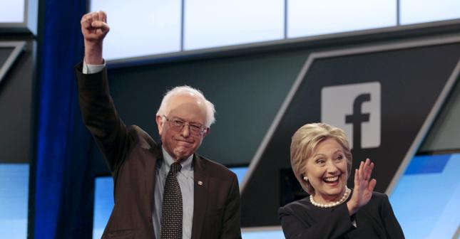 Bernie Sanders i Hillary Clinton