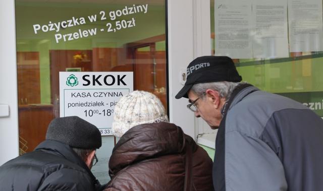 Część klientów SKOK Wołomin bez pieniędzy