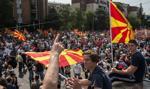 Macedonia: trwa demonstracja opozycji przeciwko rządowi Grujewskiego