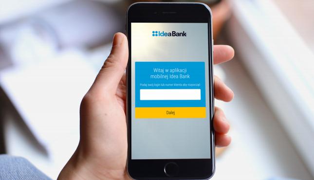 Idea Bank udostępnił aplikację mobilną