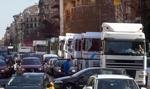 Protest transportowców doprowadził do chaosu w Barcelonie