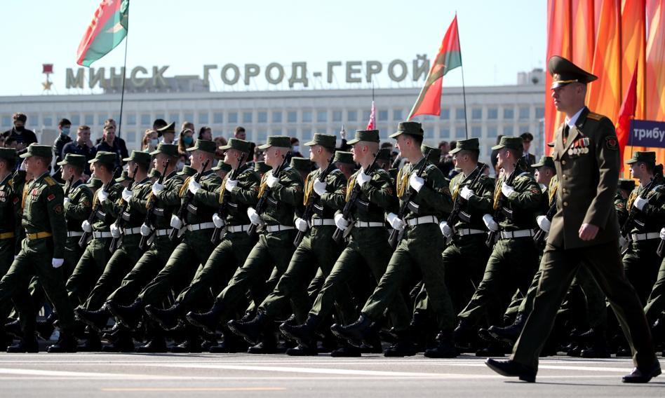 Białoruś: Żołnierze Rosji i Serbii przyjadą na manewry przy granicy z Polską