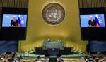 """Putin wezwał w ONZ do uwolnienia handlu światowego od """"nielegalnych sankcji"""""""