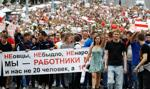 Tysiące ludzi na demonstracji w centrum Mińska