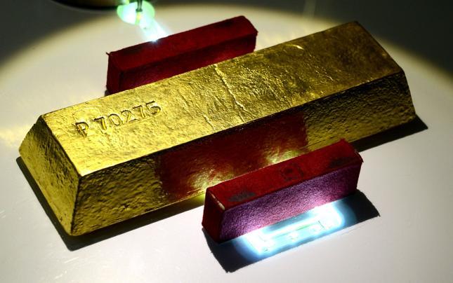 W 2014 r. do niemieckiego skarbca wróciło 210 ton złota z Paryża i Nowego Jorku