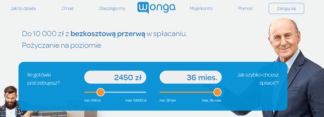 Wonga – jakie warunki pożyczki?