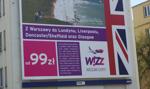 Od przyszłego roku pięć nowych połączeń Wizz Air z Polski