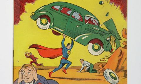 Najcenniejszy komiks świata. Pierwszy egzemplarz z Supermanem sprzedany za 3,25 mln dol.