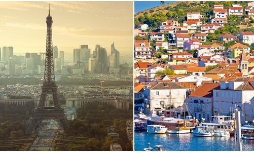 Francja-Chorwacja. Pojedynek krajów z problemami