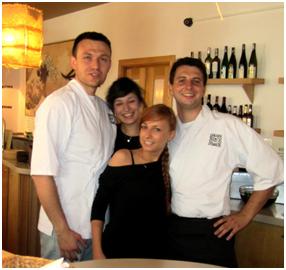 Pracownicy Sakana Sushi Bar