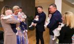 Para prezydencka odwiedziła sześcioraczki z okazji Światowego Dnia Wcześniaka