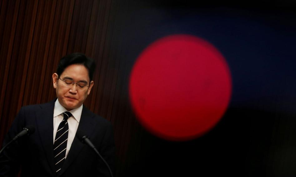 Wiceszef Samsunga oskarżony o oszustwa i defraudacje