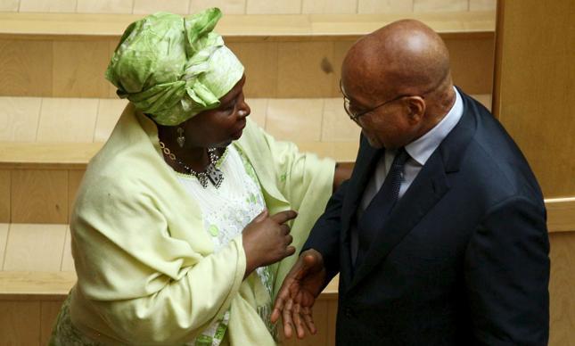 Nkosazana Dlamini-Zuma i Jacob Zuma