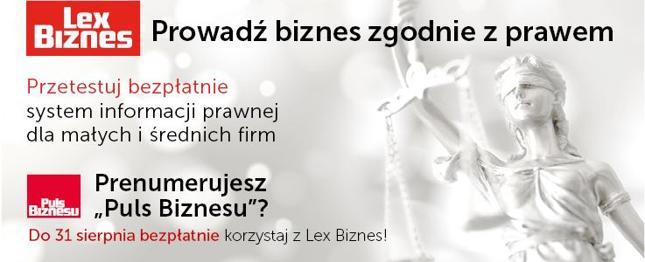 Ruszył serwis LexBiznes