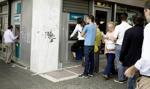 Grecja: niemal rekordowy odpływ depozytów