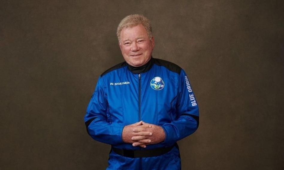 """Gwiazda serialu """"Star Trek"""" poleciała w kosmos rakietą Blue Origin"""
