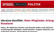"""""""Der Spiegel"""": wschód NATO za zerwaniem umowy z Rosją"""