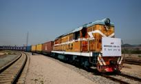 Pierwszy pociąg towarowy z Wielkiej Brytanii dotarł do Chin