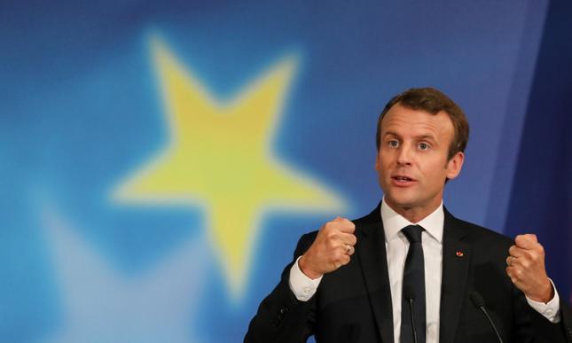 Prezydent Francji Emmanuel Macron.
