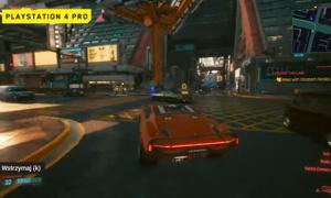 """Oficjalny gameplay """"Cyberpunka 2077"""" na PlayStation"""