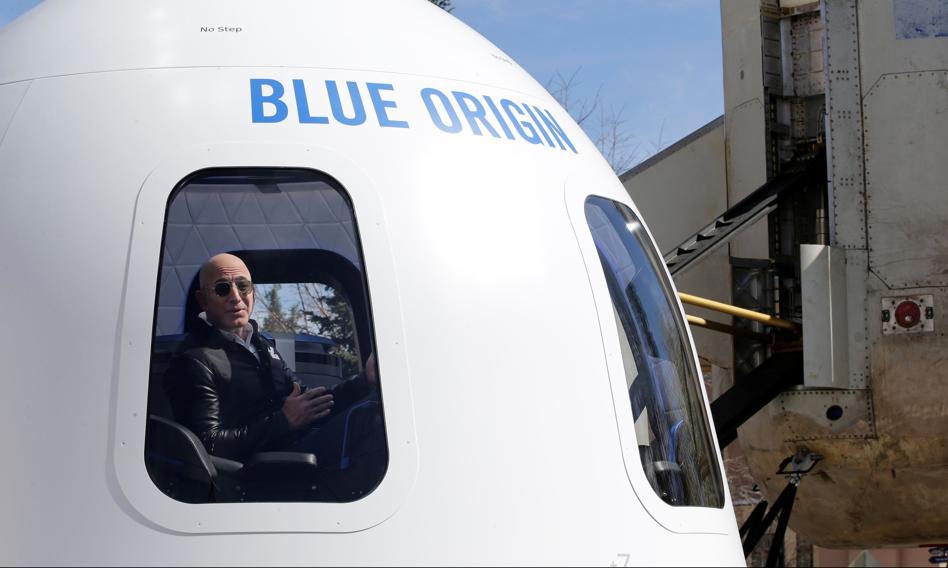 18-latek poleci w kosmos z Jeffem Bezosem